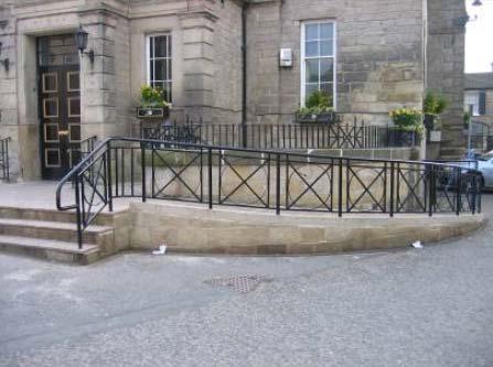 external handrails for steps uk. provision of both: ramp and steps external handrails for uk m